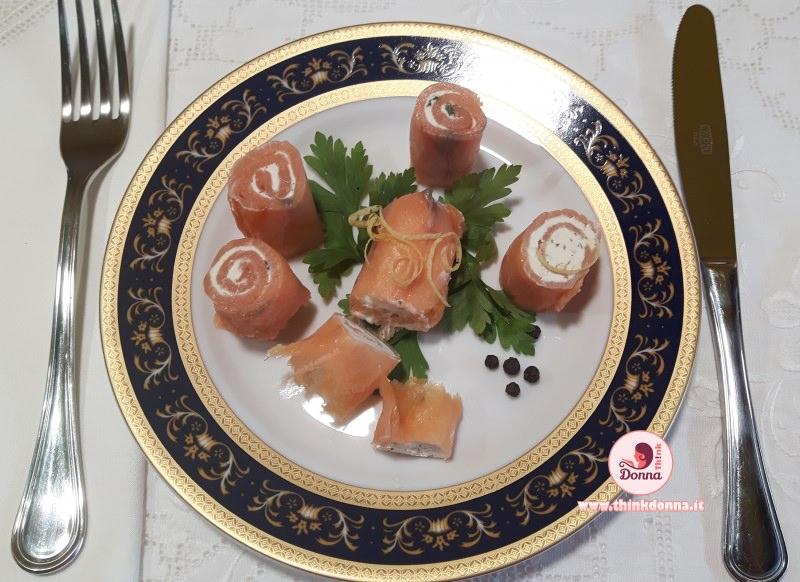 bocconcini di salmone finger food piatto pronto antipasto