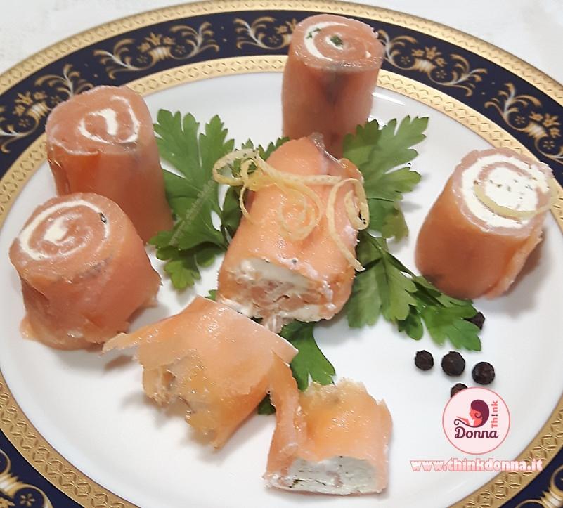 bocconcini di salmone finger food antipasto