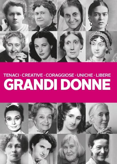 Grandi donne tenaci creative coraggiose | Biblioteca delle donne collezione libri