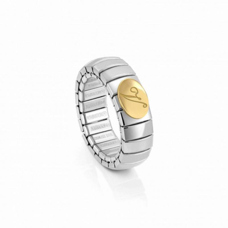 Gli anelli con iniziali sono il regalo d'amore perfetto anello oro bianco giallo