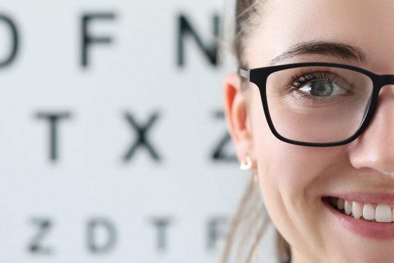 occhiali da vista viso donna
