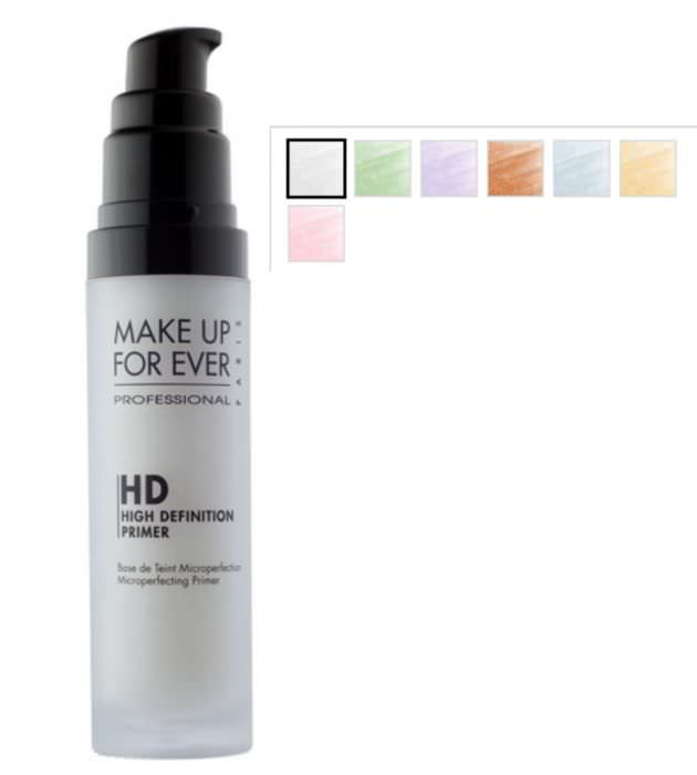 Primer viso: il segreto per un make up più duraturo make up for ever professional high definition