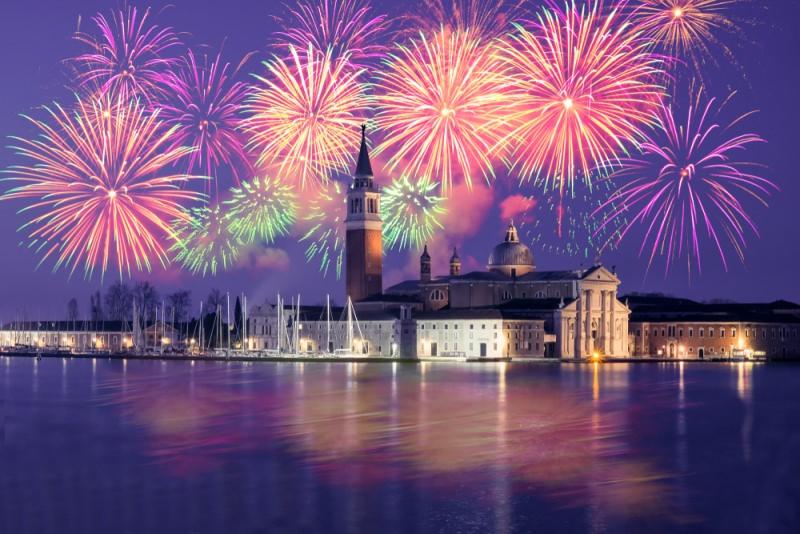 capodanno fuochi artificio