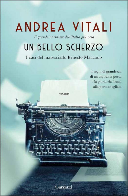 copertina libro un bello scherzo di Andrea Vitali