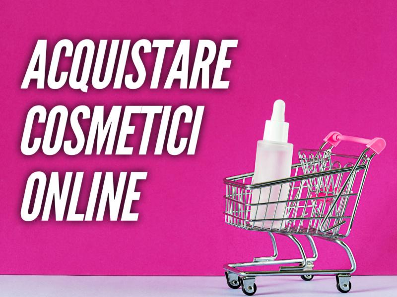 carrello spesa acquisto online cosmesi