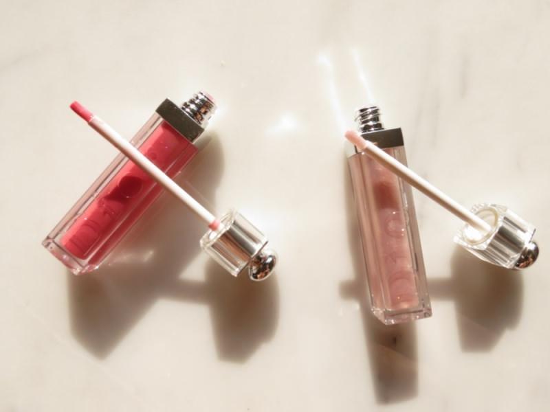 lip gloss trucco makeup natale 2014 golden shock collezione dior nuance colore Pink Excess tonalità Gold Rain