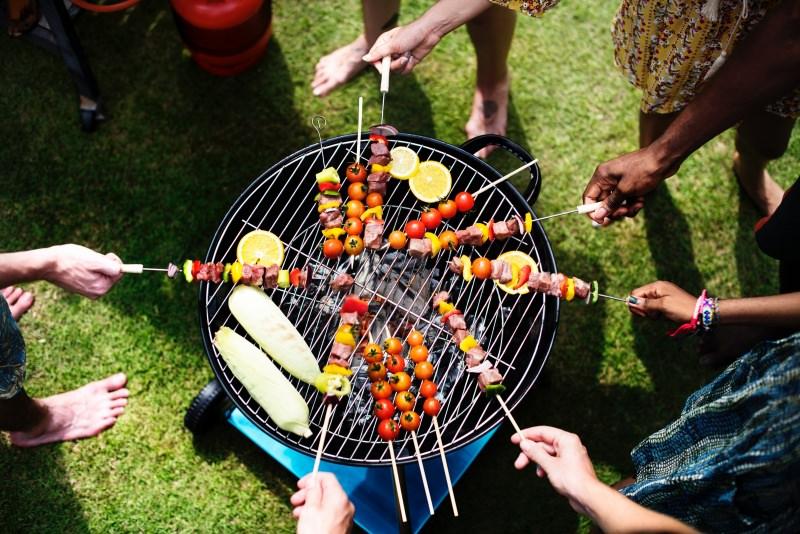 grigliata di ferragosto barbecuer spiedini