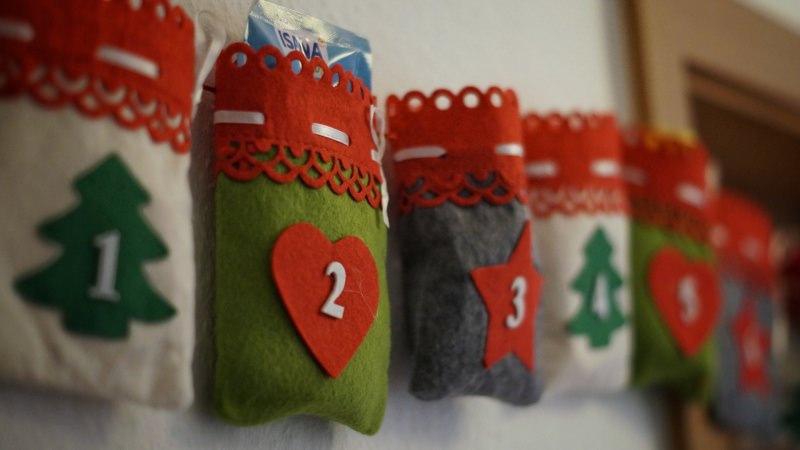Come preparare il Natale in anticipo, mese di novembre calendario dell'Avvento