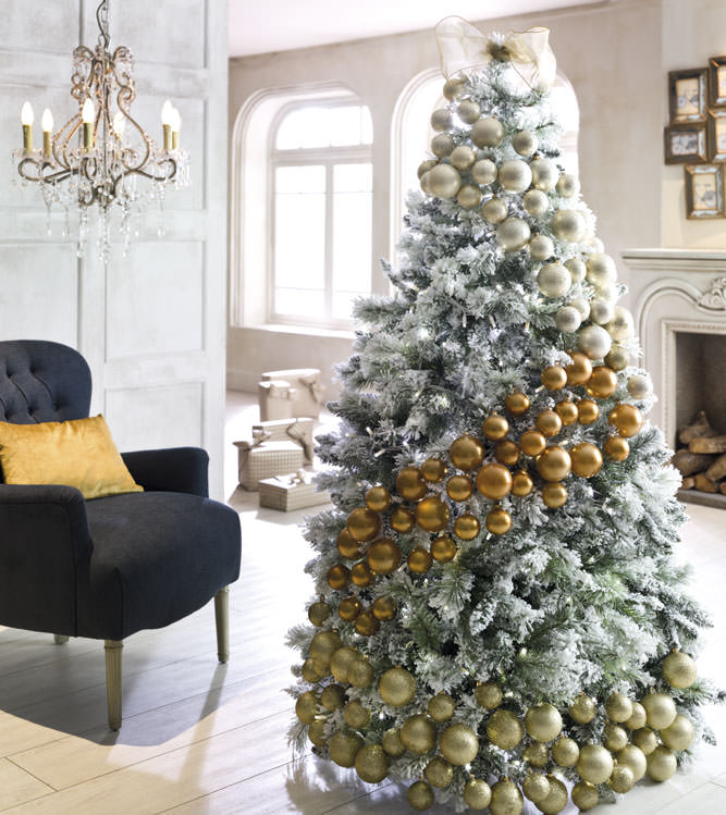 Come decorare albero di natale in modo originale idee e for Lampadario palline vetro