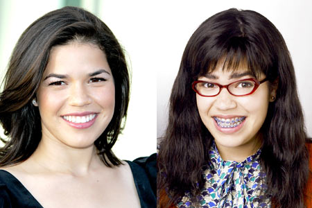I sorrisi più belli delle star di Hollywood america ferrere ugly betty prima e dopo
