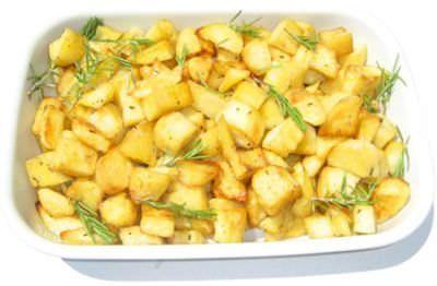 Patate arrosto contorno Il menu di San Valentino per preparare una cena romantica