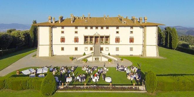 Artimino e la Chaine Toscana Francigena Villa Medicea La Ferdinanda