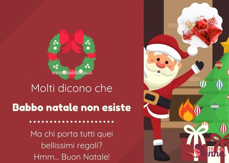 buon natale divertente Babbo Natale frasi quote regali