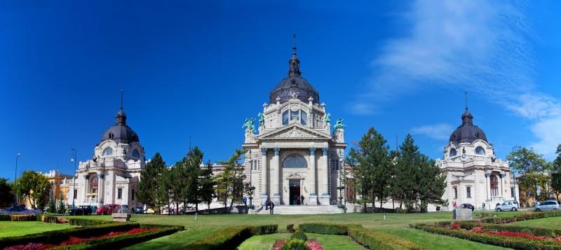 budapest bagni termali di Széchenyi
