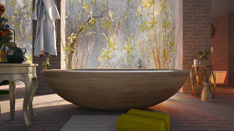 bagno arredo zen vasca