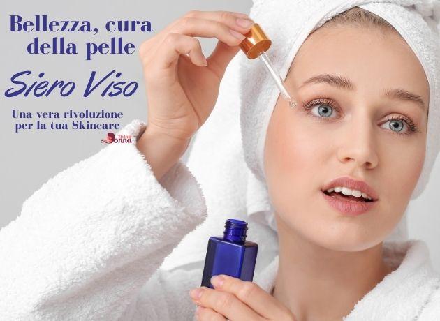bellissima donna skincare siero viso