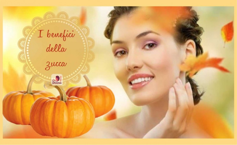 3 Ricette di bellezza fai da te con la zucca benefici viso donna pelle liscia luminosa foglie autunno
