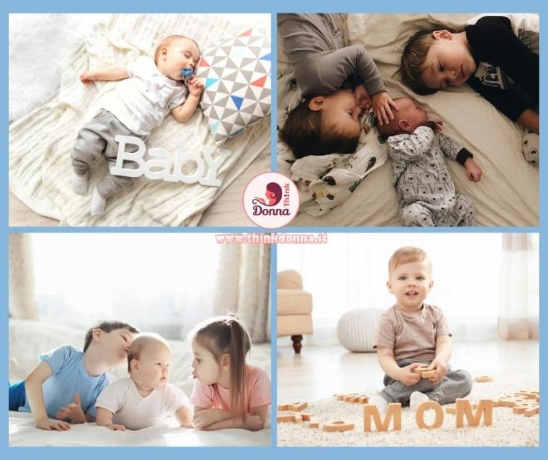 bambini neonati fratelli sorelle