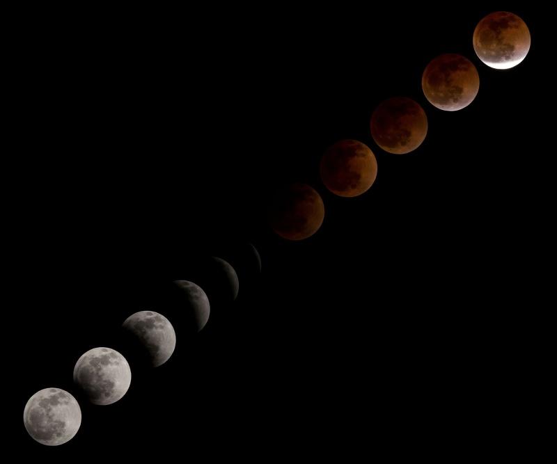 Eclissi lunare, la più lunga del secolo | Effetto Blood Moon Luna rossa