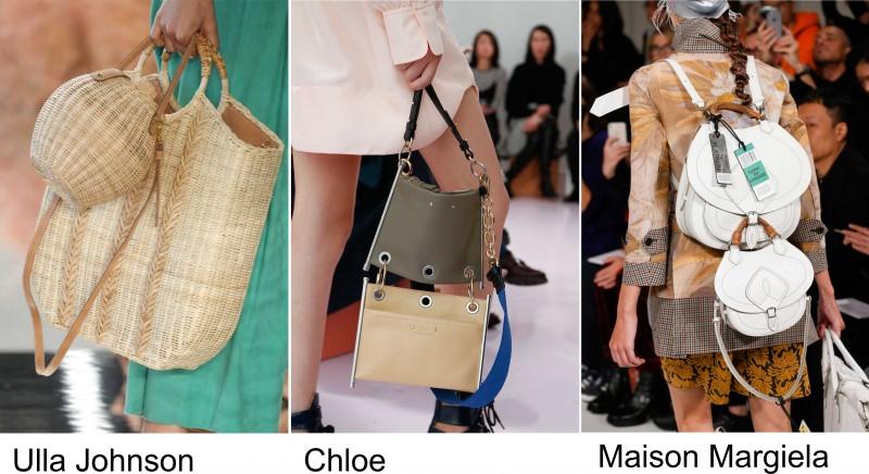 Gli accessori moda, le tendenze principali della prossima stagione Quale sarà la borsa più alla moda nella primavera-estate 2018? Sfilata Ulla Johnson Chloe Maison Margiela