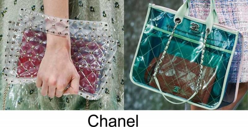 Gli accessori moda, le tendenze principali della prossima stagione Quale sarà la borsa più alla moda nella primavera-estate 2018? Borse Chanel shopping bag trasparente