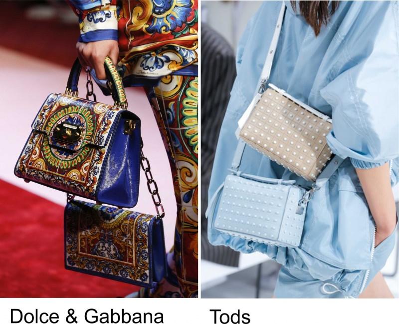 Quale sarà la borsa più alla moda nella primavera-estate 2018? Quale sarà la borsa più alla moda nella primavera-estate 2018? sfilata Dolce & Gabbana Tods
