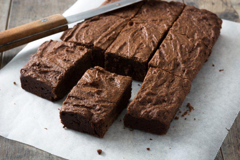 brownies al cioccolato coltellofette porzioni