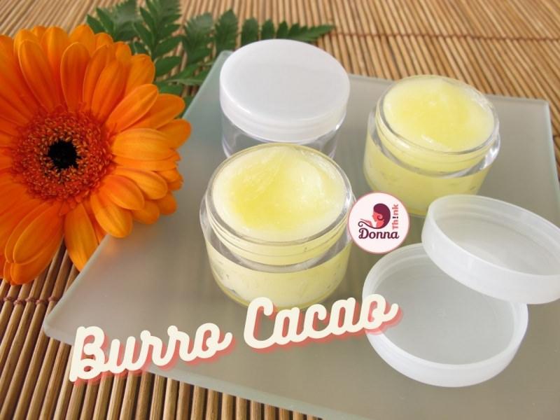 burro cacao balsamo barattolini vetro tappo plastica fiore gerbera arancione