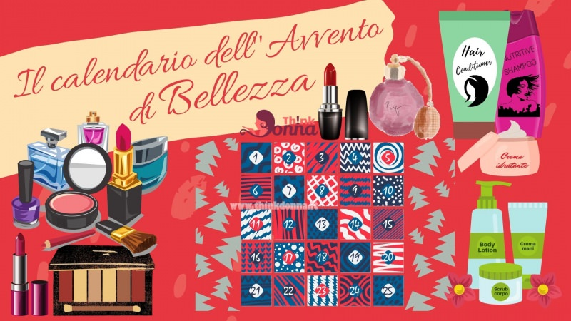calendario dell avvento di bellezza prodotti di bellezza makeup