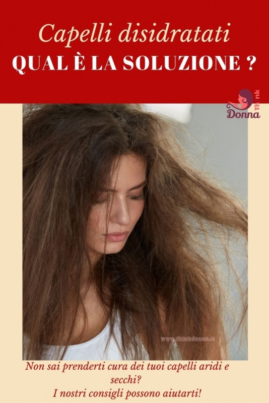 donna capelli sfibrati secchi crespi soluzione consigli