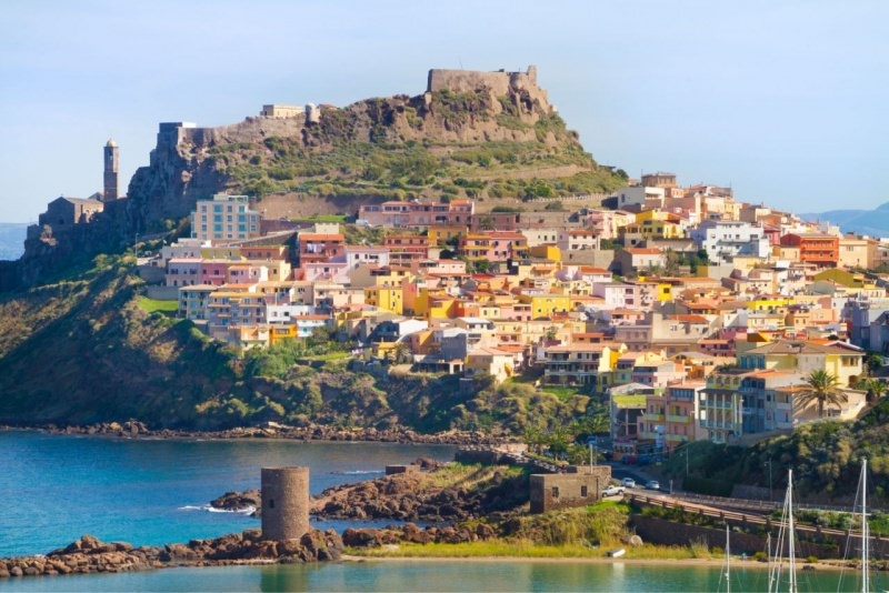 Castelsardo mare Sardegna