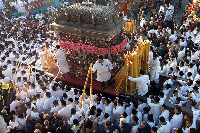 processione festa sant Agata Catania