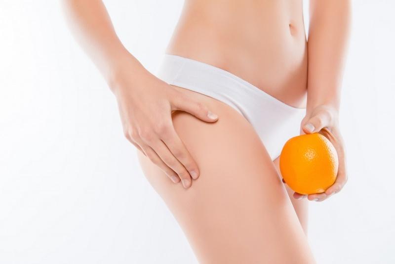 pelle perfetta corpo donna snella arancia