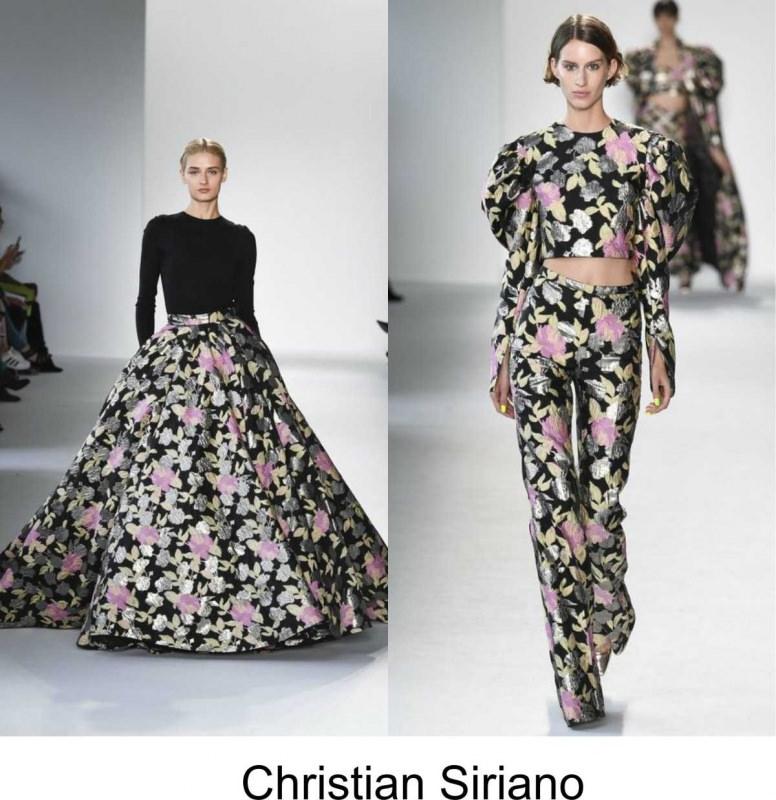 Moda 2018, le tendenze principali primavera estate sfilata moda Christian Siriano
