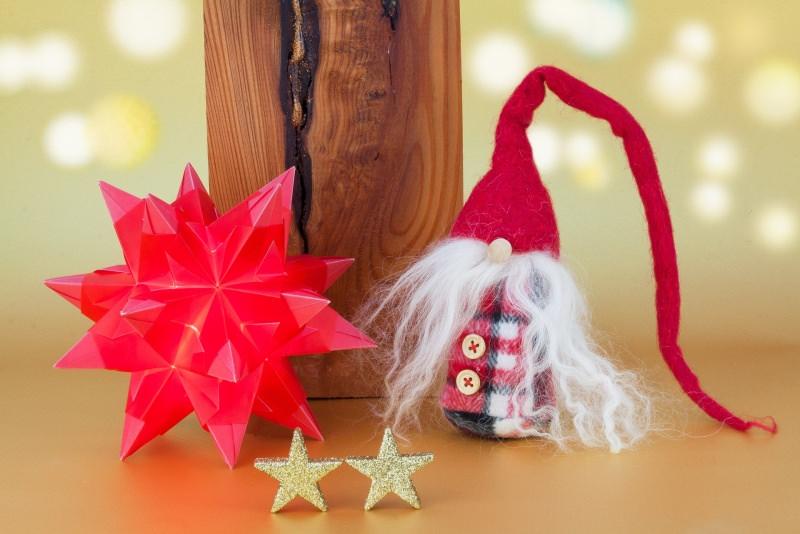 Natale 2018 | Addobbi natalizi| Idee | Colori | Decorazioni origami pupazzo in stoffa