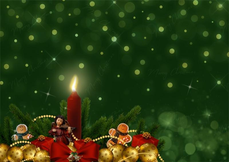 Frasi per gli auguri di Natale e Felice Anno Nuovo | Buone Feste merry christmas candela