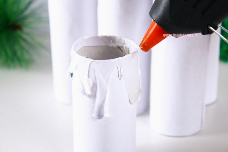 tutorial candela fai da te pistola colla a caldo effetto cera che cola