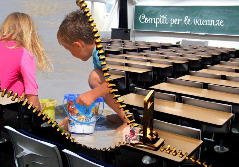 compiti per le vacanze bambini mareaula lavagna