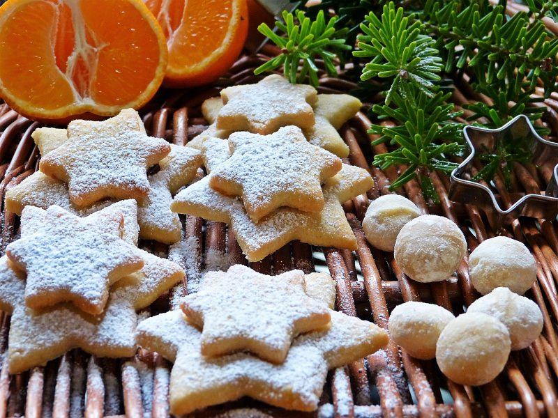 biscotti natalizi frolle santa lucia arancia