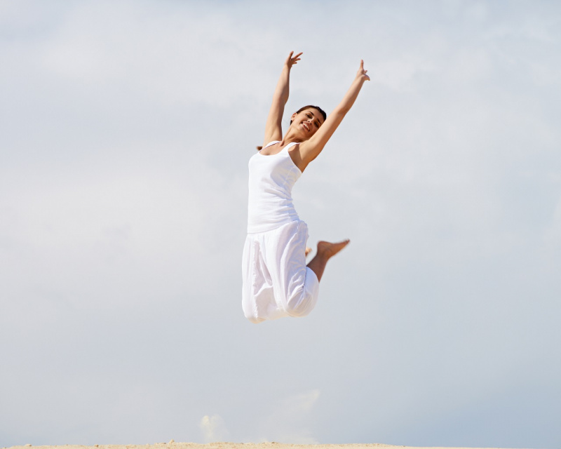 collagene donna salto completo bianco osteoporosi cielo