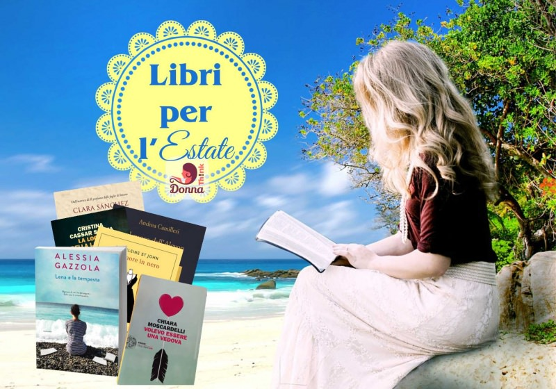 consigli di lettura libri estate vacanze mare sabbia spiaggia onde donna