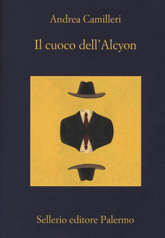 copertina libro il cuoco dell Alcyon di Andrea Camilleri