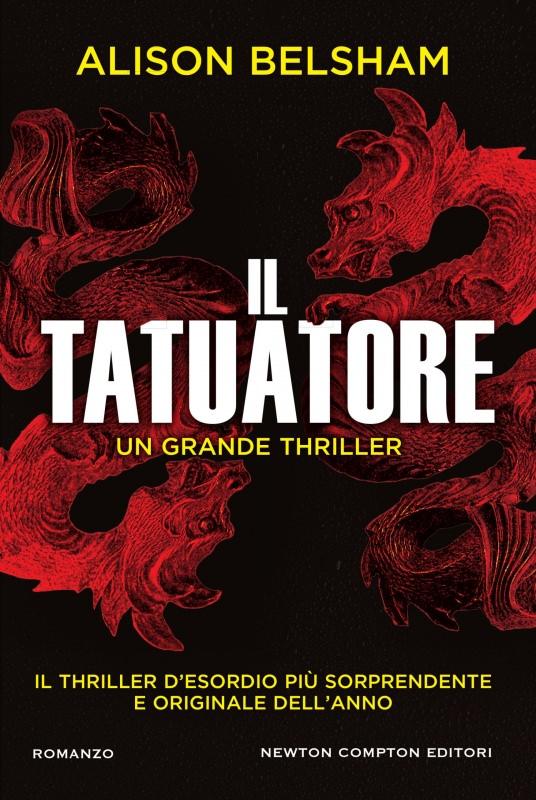 copertina libro Il tatuatore un grande thriller di Alison Belsham Quale libro leggere sotto l'ombrellone? 10 libri per l'estate 2018