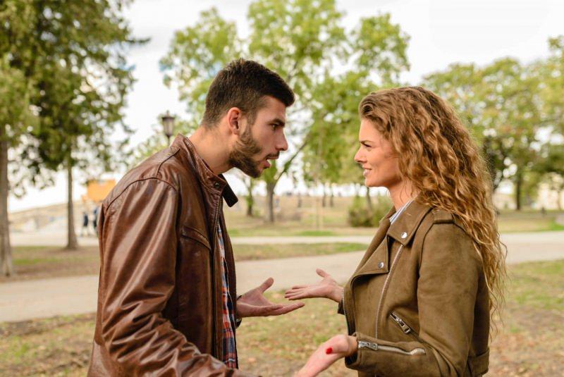 coppia rapporto litigio