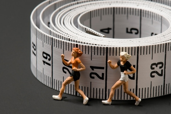 Consigli per dimagrire camminando metro sarta bianco donne