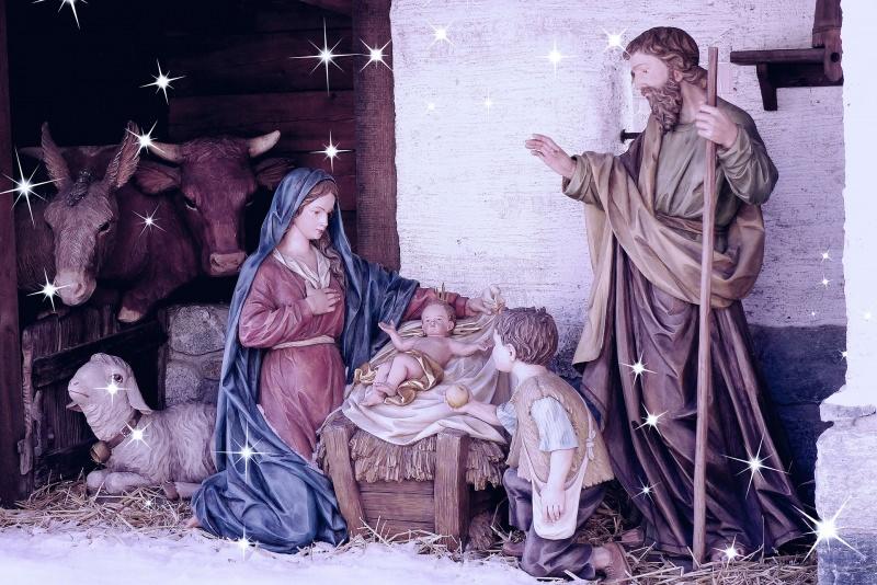 Perché fare il Presepe di Natale: significato, storia e tradizioni Sacra Famiglia bue asinello pecora mangiatoria Gesù Bambino