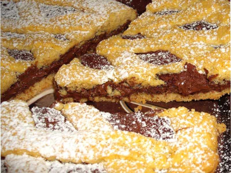 crostata morbida nutella