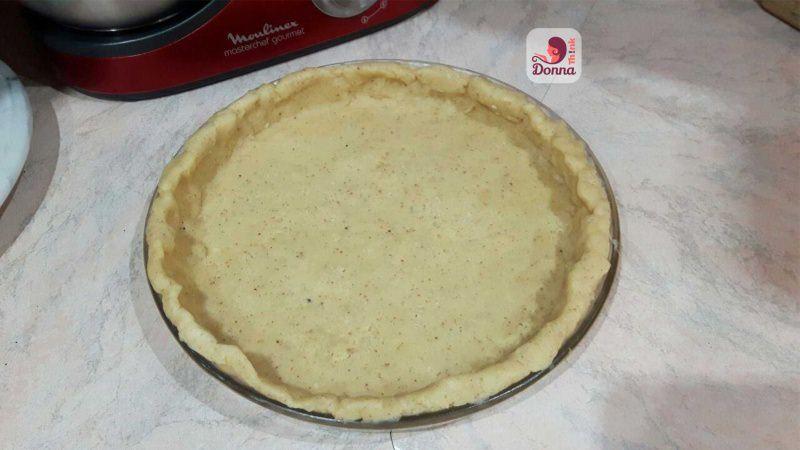 crostata su stampo pronto