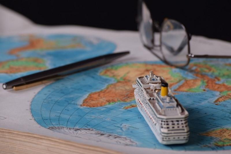 In crociera ai Caraibi, i luoghi da visitare obbligatoriamente mappa geografica