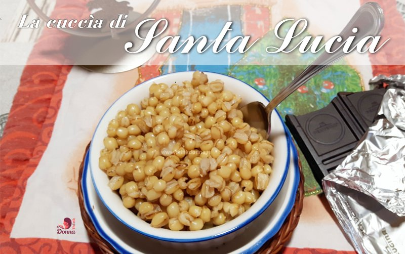 cuccìa di Santa Lucia tradizioni cucina siciliana